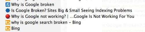 Bing gets it right.