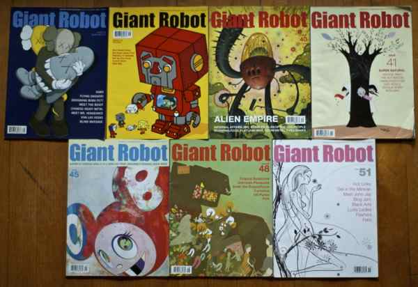 giant robot lot 1